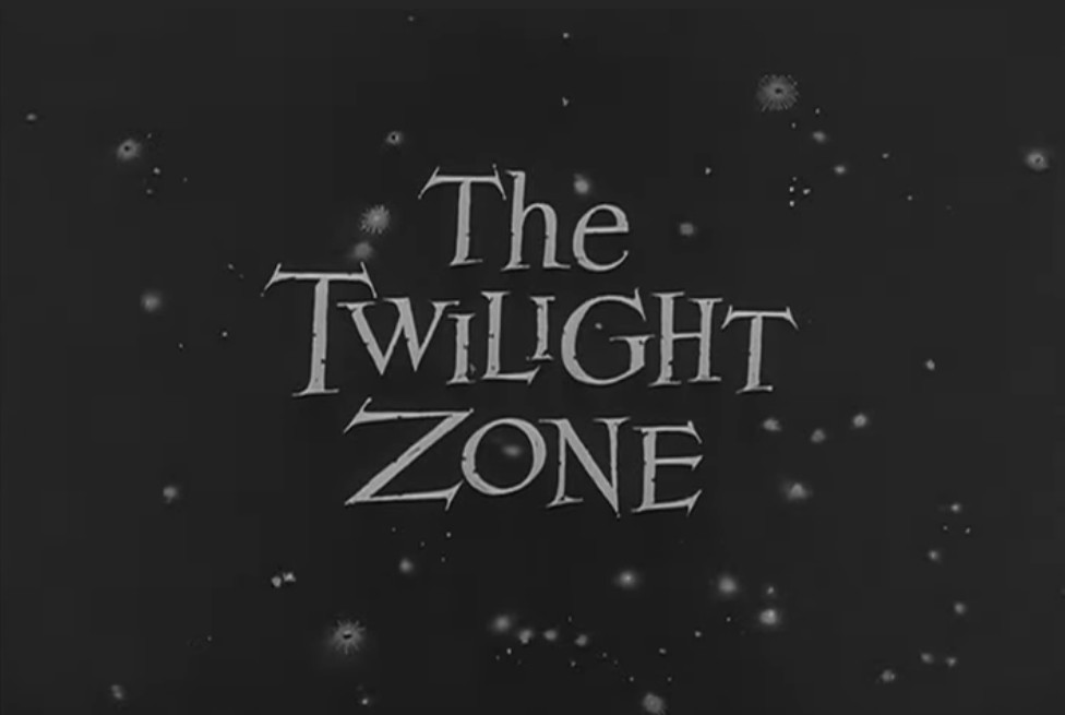 """A screenshot from the opening sequence of """"The Twilight Zone"""""""
