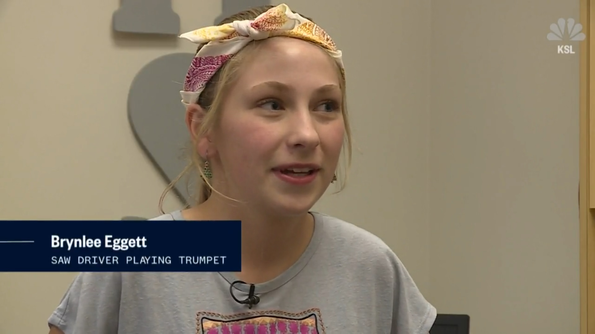Brynlee Eggett: Saw Driver Playing Trumpet