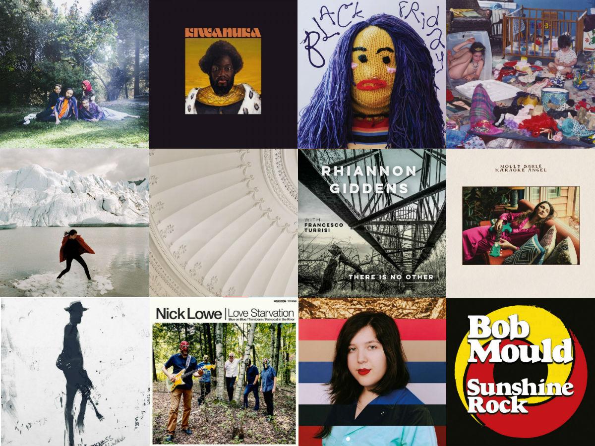 12 album covers