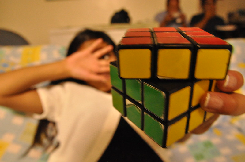 Rubik's Cube (photo by Krystal Nina Laigo via Flickr/Creative Commons)