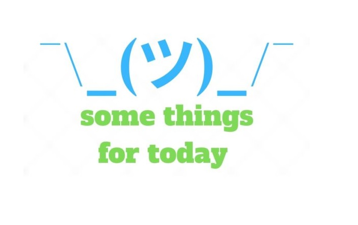Some Things For Today logo