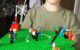 Four year old shows off his Lego zombie apocalypse!?!