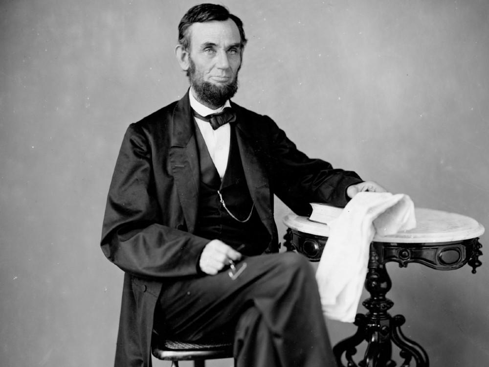 Portrait of Abraham Lincoln by Alexander Gardner, 1863 - National Portrait Gallery, Smithsonian Institution; gift of the James Smithson Society, CBS Television Network, and James Macatee https://www.si.edu/object/abraham-lincoln:npg_NPG.83.129