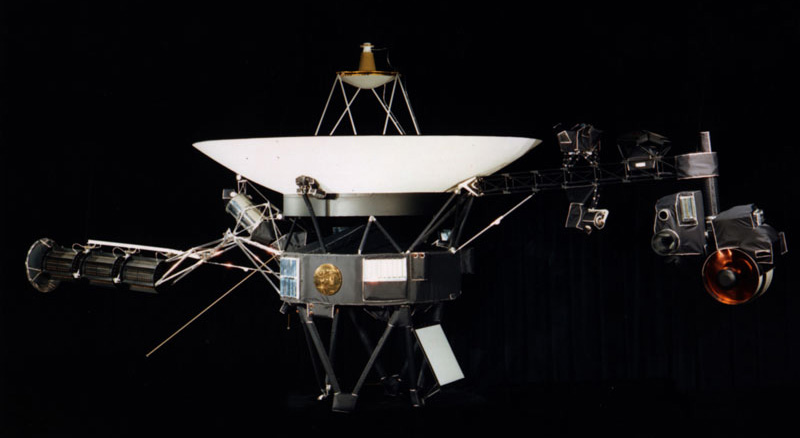 Voyager (photo via NASA)
