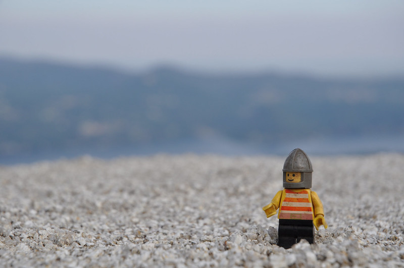 Lego figure out in the world (photo by ale via Flickr/CC)