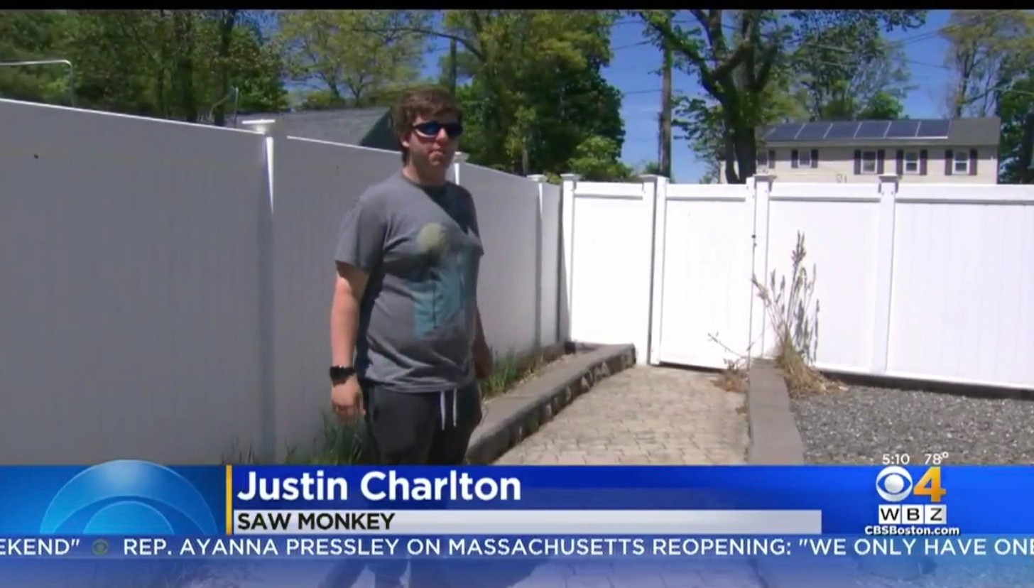 Justin Charlton: Saw Monkey