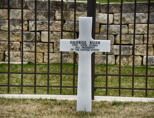 George H W Bush's Gravesite