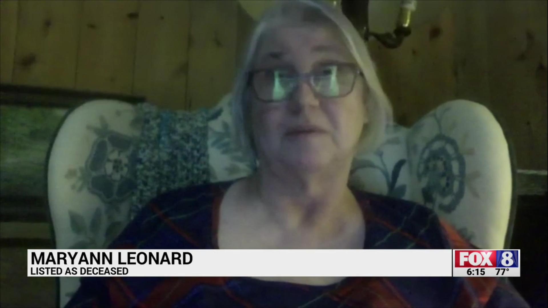 Maryann Leonard: Listed As Deceased