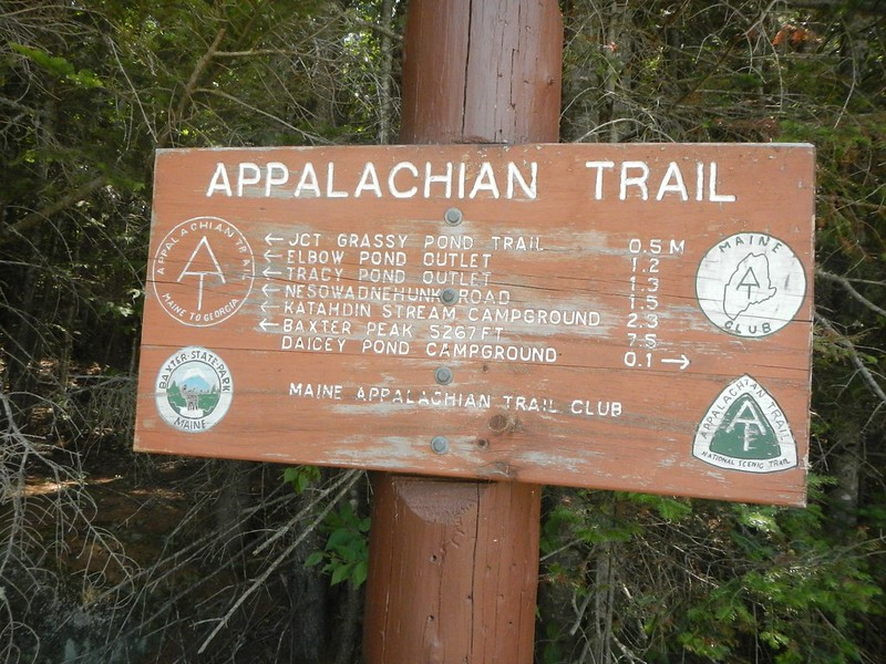 Appalachian Trail sign. (Photo by John Hayes via Flickr/Creative Commons https://flic.kr/p/wykqDP)