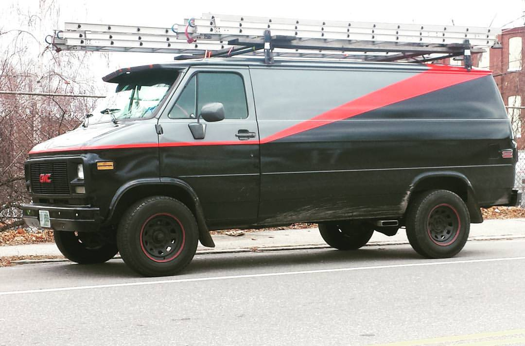 an A-Team-style awesome van