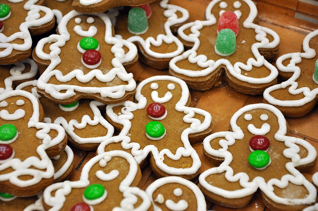 Gingerbread - U.S. Air Force photo by Senior Airman Elisa Labbe