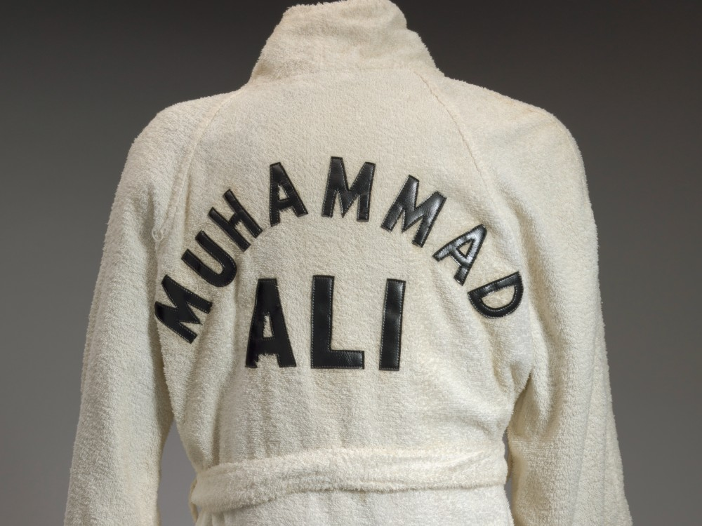 Muhammad Ali's robe (Collection of the Smithsonian National Museum of African American History and Culture)