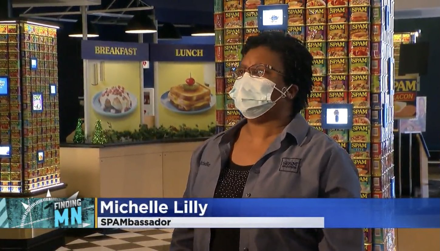 Michelle Lilly: SPAMbassador