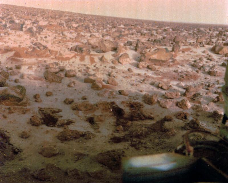 Viking 2 landing site. (NASA via Flickr)