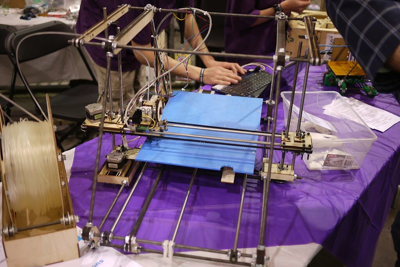 3D printer (photo by Stephen via Flickr/Creative Commons https://flic.kr/p/9L42M1)