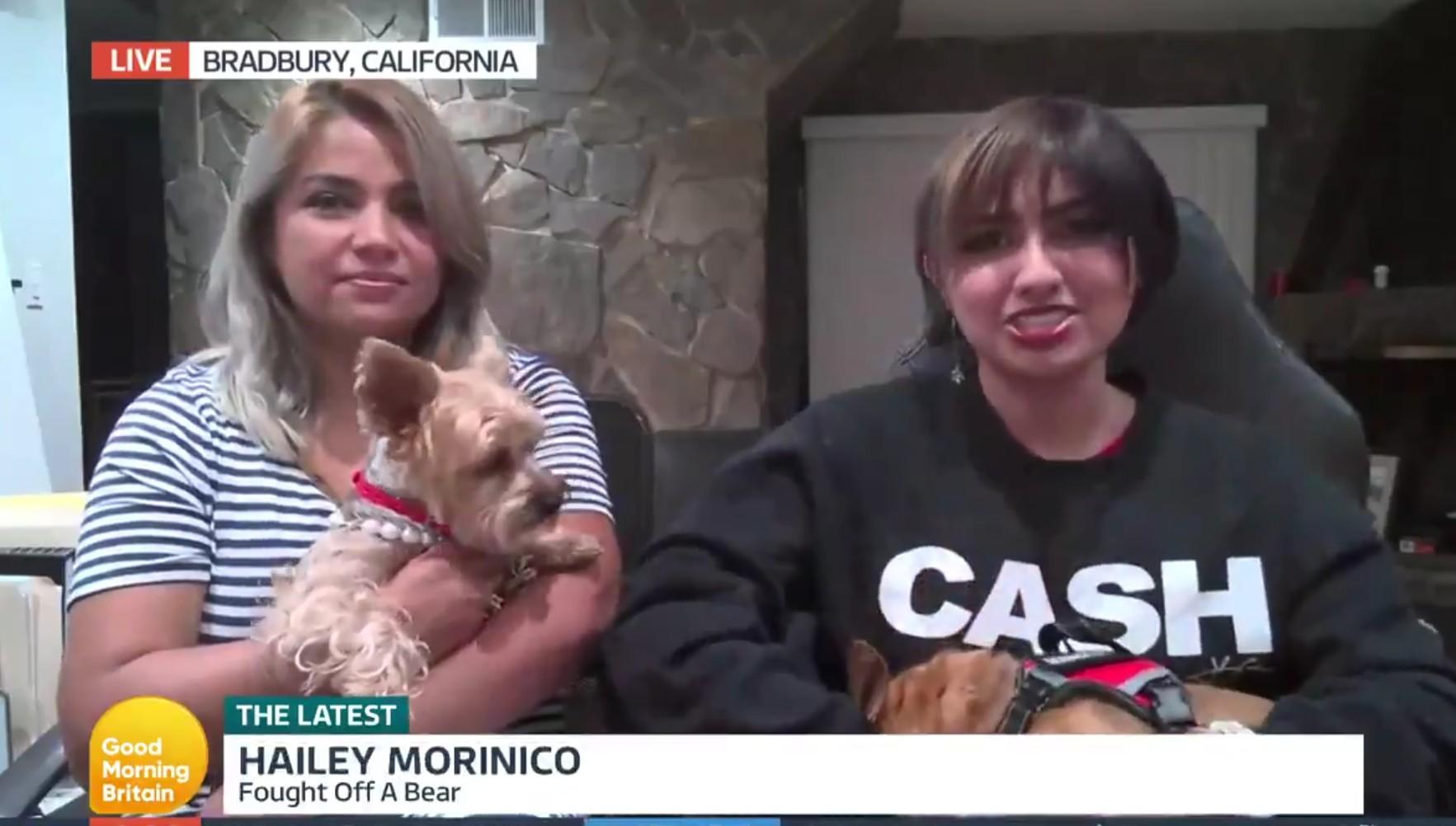 Hailey Morinico: Fought Off A Bear