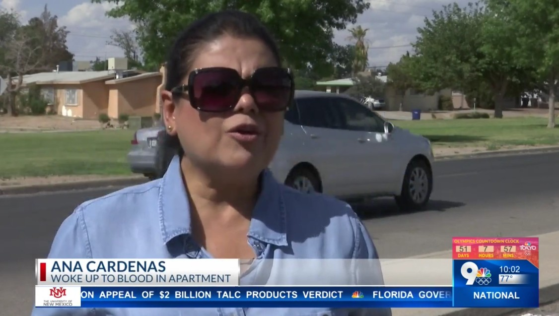 Ana Cardenas: Woke Up To Blood In Apartment