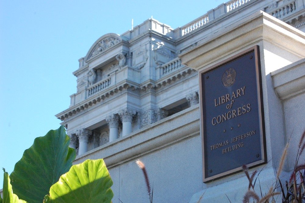 Exterior of Library of Congress - Thomas Jefferson Building