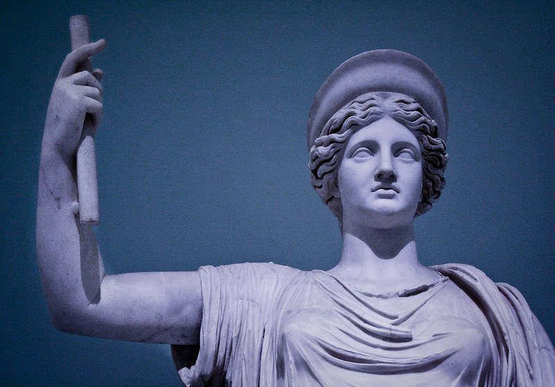 Statue of Hera from Museo Archeologico Nazionale, Naples, Italy (Photo by Albert via Flickr/Creative Commons https://flic.kr/p/7Ra2x8)