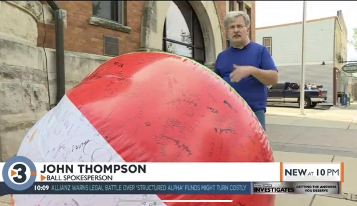 John Thompson: Ball Spokesperson
