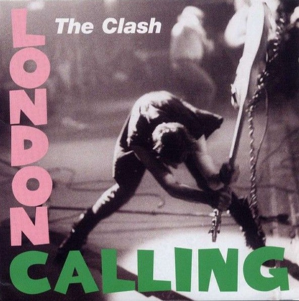 """the cover of """"London Calling"""" by The Clash"""