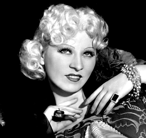 Publicity portrait of Mae West, 1936. (Photo via Wikicommons https://commons.wikimedia.org/wiki/Category:Mae_West#/media/File:Mae_West_-_1936.jpg)