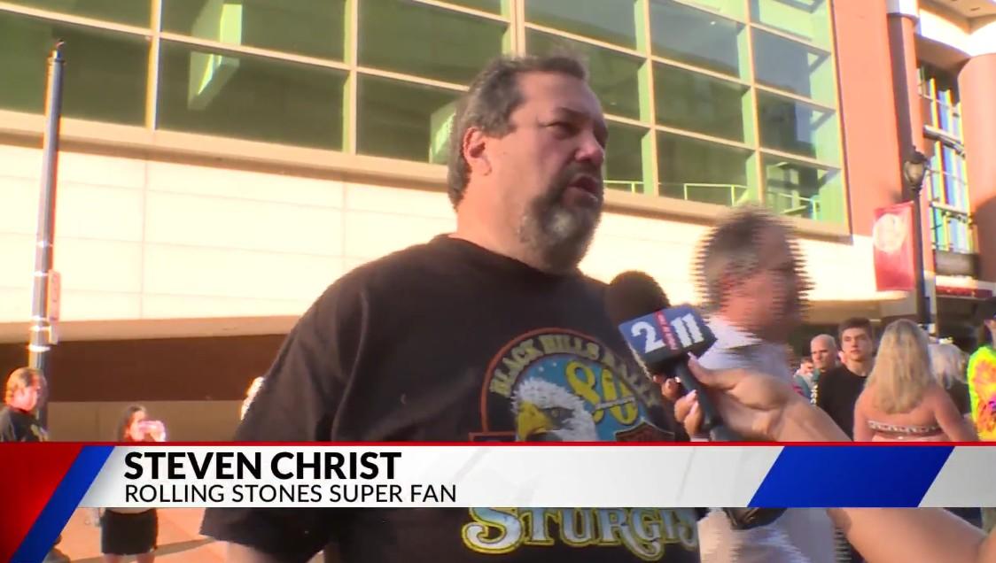 Steven Christ: Rolling Stones Super Fan