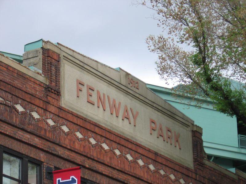 Exterior of Fenway Park. (Photo by Jasperdo via Flickr/Creative Commons https://flic.kr/p/fHW4G)